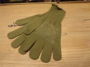 U.S.Gloves Insert Wool? Light Weight sizeM/L new