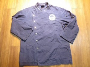 "U.S.NAVY Umiform Cook Shirt ""USS BLUE RIDGE"" sizeM"