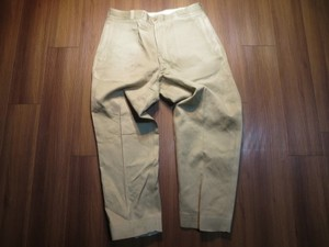 U.S.Trousers Cotton 1965-66年 size38?(waist90cm)