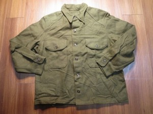 U.S.ARMY Field Shirt Wool/Nylon 1953年 sizeL new?
