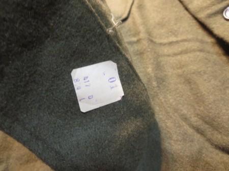 U.S.ARMY Field Shirt Wool/Nylon 1953年 sizeL new?