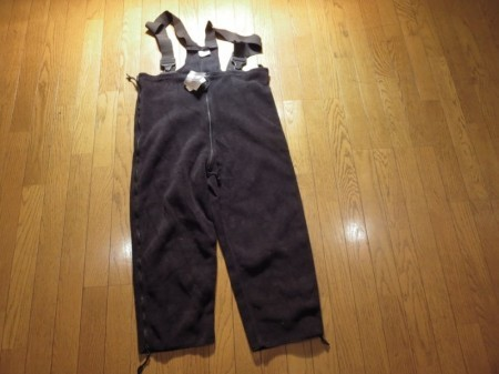 U.S.SyntheticFleece Overalls ColdWeather sizeM new