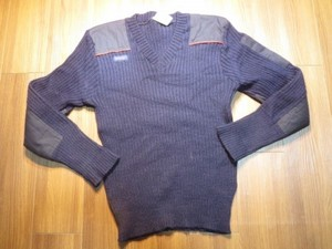 U.K.ROYAL MAIL Sweater 100%Wool sizeXL? used