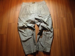 U.S.AIR FORCE Field Trousers 1950年代? sizeXL? used
