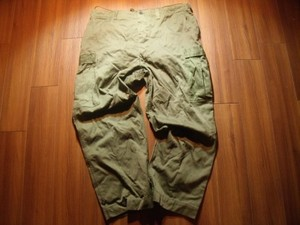 U.S. M-43 Field Trousers Modified 1950年代 sizeXXL