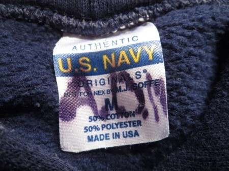 U.S.NAVY Hooded Parka sizeM used