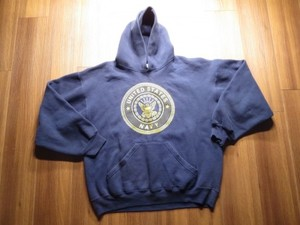 U.S.NAVY Hooded Parka sizeL used