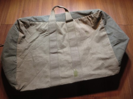 U.S.AIR FORCE Kit Bag Flyer's Cotton 1978年 used