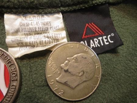 U.S.MARINE CORPS Fleece POLARTEC sizeL used