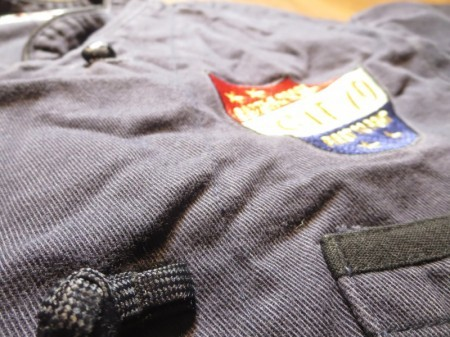 "U.S.NAVY Umiform Cook Shirt ""CTF 70"" sizeM used"