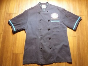 "U.S.NAVY CookShirt ""USS RONALD REAGAN"" sizeS"