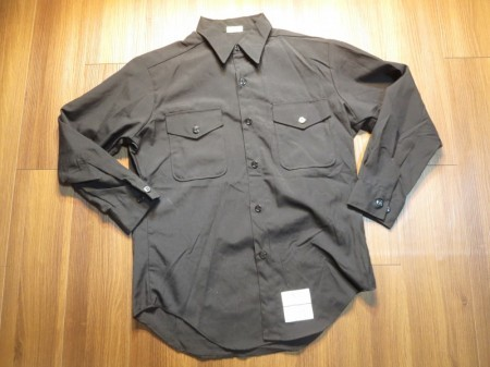 U.S.NAVY Shirt Poly/Wool 1998年 size16 used