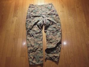 U.S.MARINE CORPS Trousers(MCCUU)WoodLand sizeLused