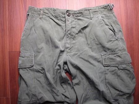 U.S.Fatigue Trousers Cotton 1969年 sizeM-R used