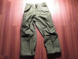 U.S.M-65 Field Trousers 1972年 sizeSmall-Short new
