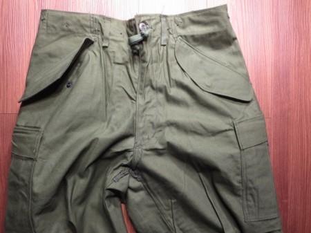 U.S.M-65 Field Trousers 1972年 sizeSmall-Short new