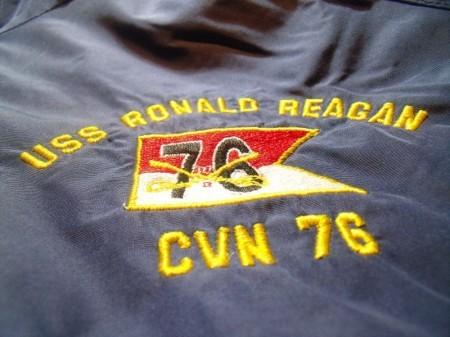 "U.S.NAVY Cold Weather ""USS RONALD REAGAN"" sizeXL"