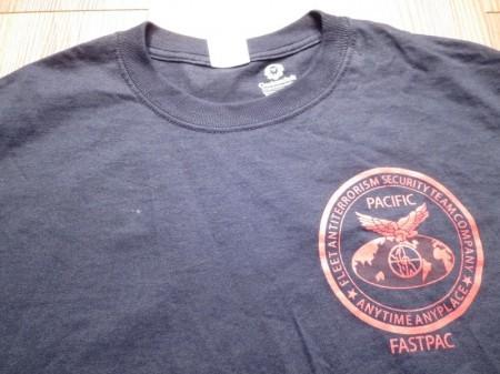 """U.S.MARINE CORPS T-Shirt """"FAST PAC"""" sizeM new"""