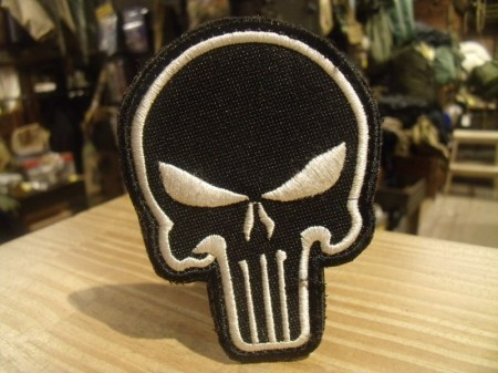 "U.S.Patch ""Punisher Skull"" used"