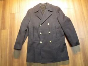 U.S.NAVAL ACADEMY Pea Coat 100%Wool size38? used