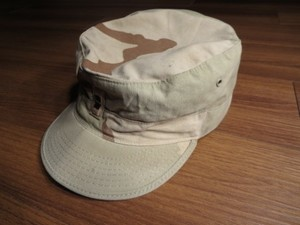 U.S.Cap Hot Weather 3color Desert size7 1/8 used
