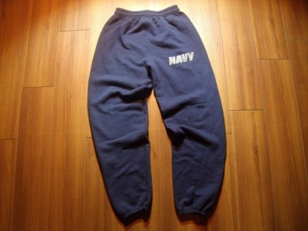 U.S.NAVY Sweat Trousers Physical Training sizeS