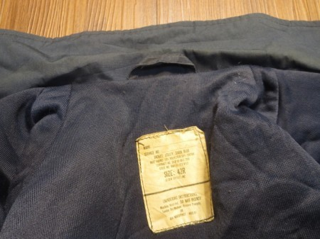 U.S.NAVY Jacket Utility 1989年 size42R used