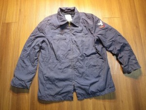 U.S.NAVY Jacket Utility Woman's 1989年 size20Rused