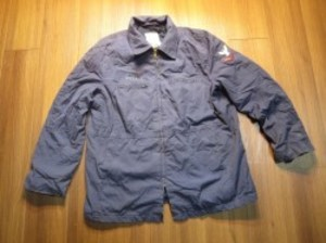 U.S.NAVY Jacket Utility Woman's 1989年 size20Rused