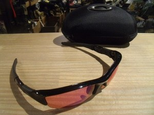 "U.S.OAKLEY Sunglasses ""FLAK JACKET"" used"