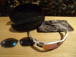 "U.S.OAKLEY Sunglasses ""FAST JACKET"" used"