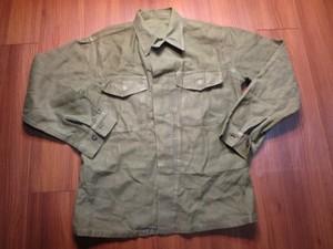 U.S.MARINE CORPS Utility Shirt 1960年頃 sizeM? used