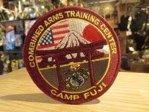 """U.S.MARINE CORPS Patch """"Camp FUJI"""" new"""