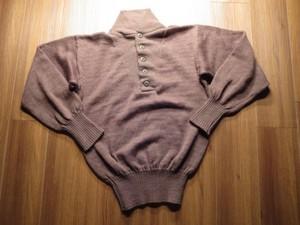 U.S.ARMY Sweater 100%Wool OD 1985年 sizeL used