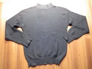 U.S.NAVY Sweater Modacrylic/Wool 1988年 sizeL used