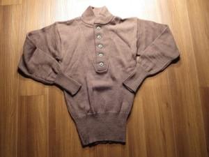 U.S.ARMY Sweater 100%Wool OD 1989年 sizeS new