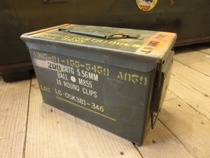 U.S.Ammunition Box Small used