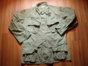 U.S.ARMY Coat Cotton Poplin 1965-66年 sizeM-Regular