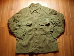 U.S.ARMY Field Shirt Wool/Nylon 1960年前後? sizeM