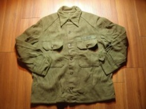 U.S.ARMY Field Shirt Wool/Nylon 1960年前後? sizeM
