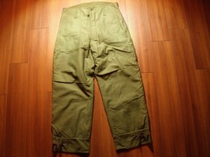 U.S.NAVY Trousers Cold Weather 1978年 sizeM used