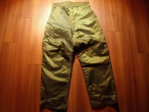 U.S.NAVY Trousers Ex Cold Weather 1973年 sizeS