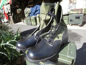 U.S.Boots Combat Tropical 1968年 size9N new