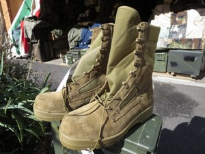 U.S.MARINE CORPS Combat Boots size8XW new