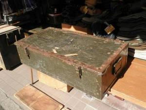 U.S.Wood Box For Tool of Carpenter used