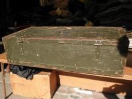 U.S.Wood Box For Tool of Carpenter used