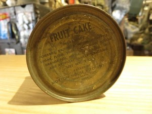 "U.S.Ration ""FRUIT CAKE"" 1943年"