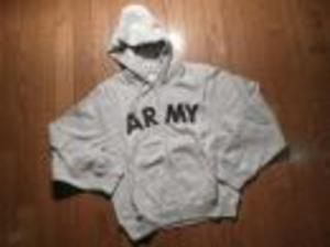 U.S.ARMY Parka Hooded Physical Fitness sizeS new