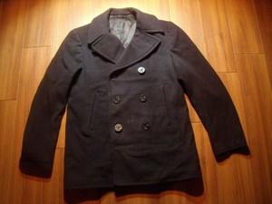 U.S.NAVY Pea Coat 100%Wool 1960年代? size40 used