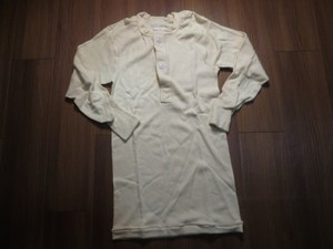 U.S.Undershirt Winter Wool/Cotton 1985年 sizeS new